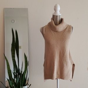 angel of the north sleeveless cowl neck